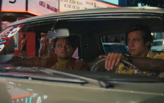 Brad Bitt und Leonardo DiCaprio machen die Straßen von Hollywood unsicher - Once Upon A Time In Hollywood