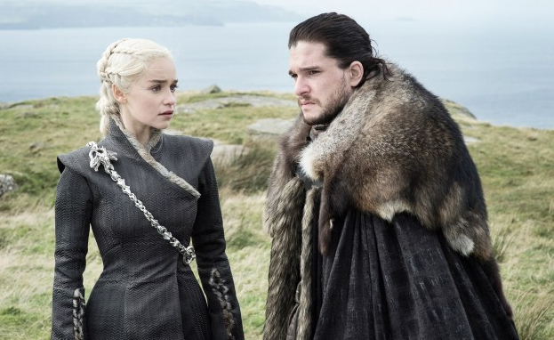 Game of Thrones: Daenerys Targaryen (Emilia Clarke) und Jon Snow (Kit Harrington)