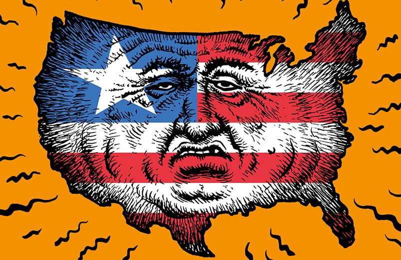 """Cover von Robert Crumbs """"Amerika"""" (Reprodukt)"""