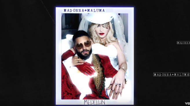 "Madonnas neue Single ""Medellín"""