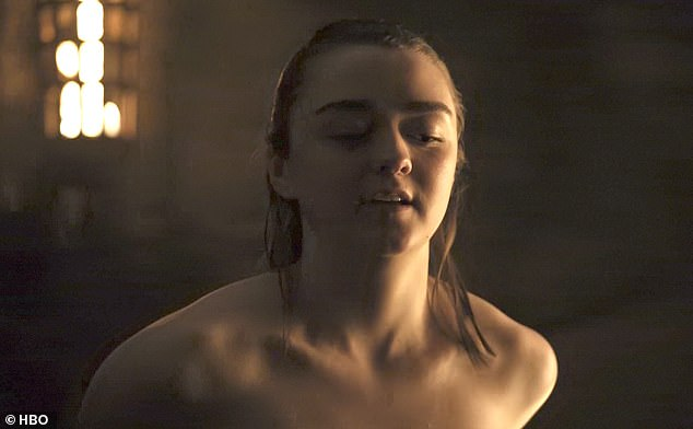 """Game of Thrones"": Maisie Williams kontert Kritik an Sex-Szene von Arya Stark"