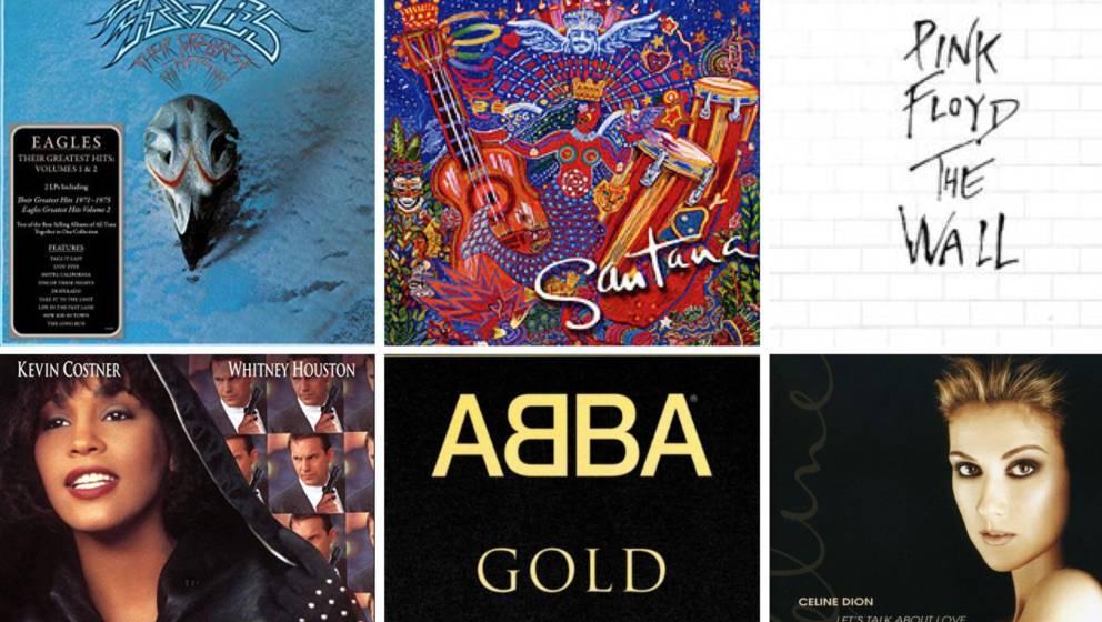 Diese Platten gehören zu den meistverkauften Alben aller Zeiten