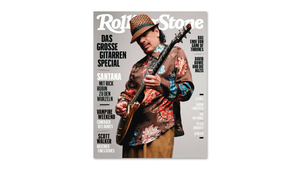 Santana: Mai-Ausgabe des ROLLING STONE