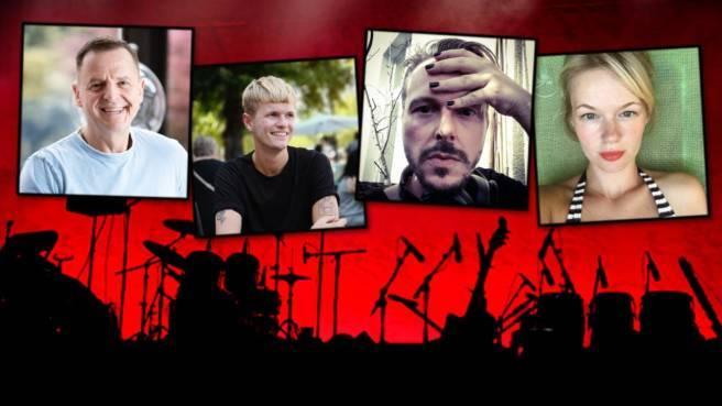 Christian, Lukas, Georg und Theresia (v. l.) öffneten im Interview ihre Erinnerungs-Jukebox