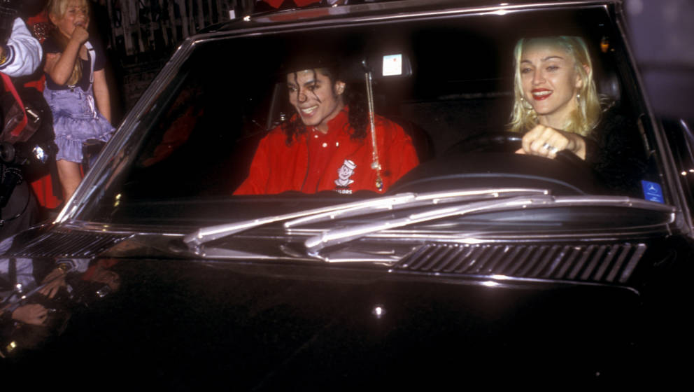 Michael Jackson and Madonna (Photo by Barry King/WireImage)
