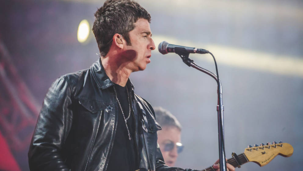 ROME, ITALY - 2019/05/01: Noel Gallagher with his High Flying Birds, was the international guest of the Concertone of Primo M
