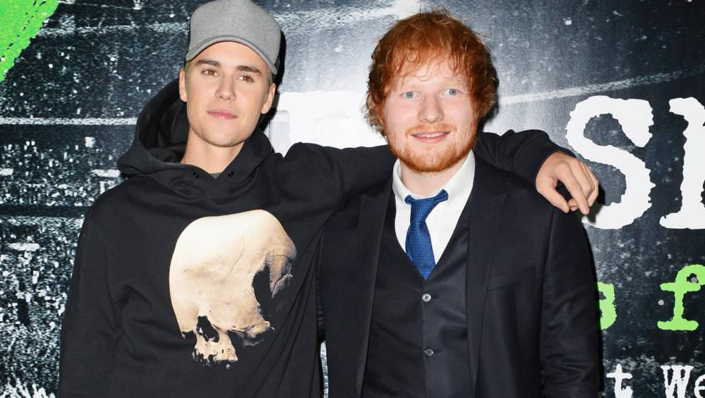 BFF: Justin Bieber und Ed Sheeran