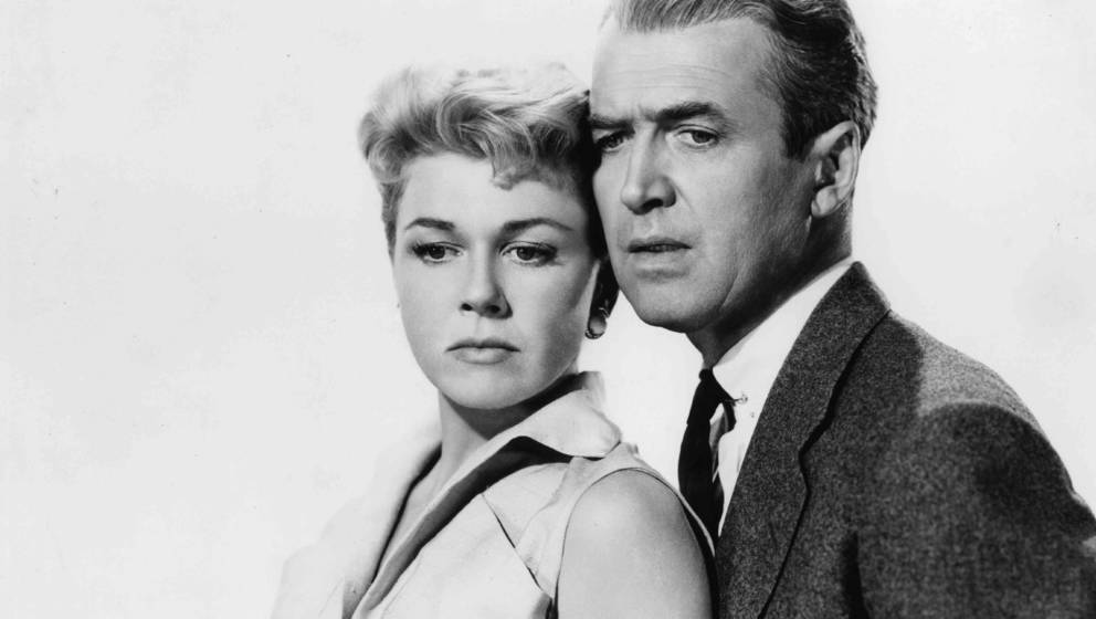 """Doris Day und James Stewart in """"Der Mann, der zuviel wußte"""""""