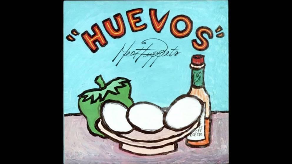"""Cover zu """"Huevos"""" von den Meat Puppets"""