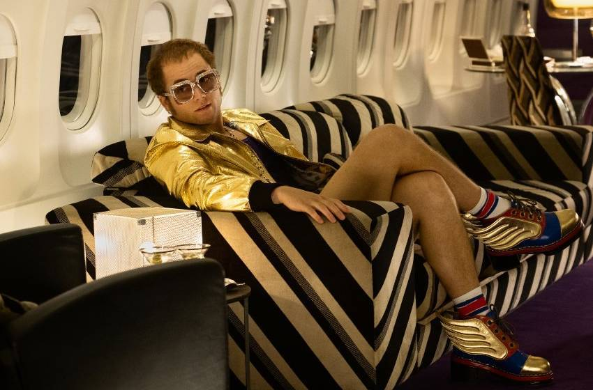 Taron Egerton takes flight as Elton John in âROCKETMANâ from Paramount Pictures