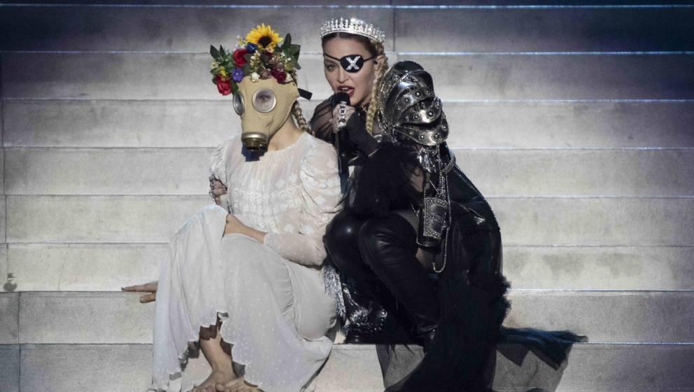 Ohren zu! So reagiert Madonna auf die heftige ESC-Häme