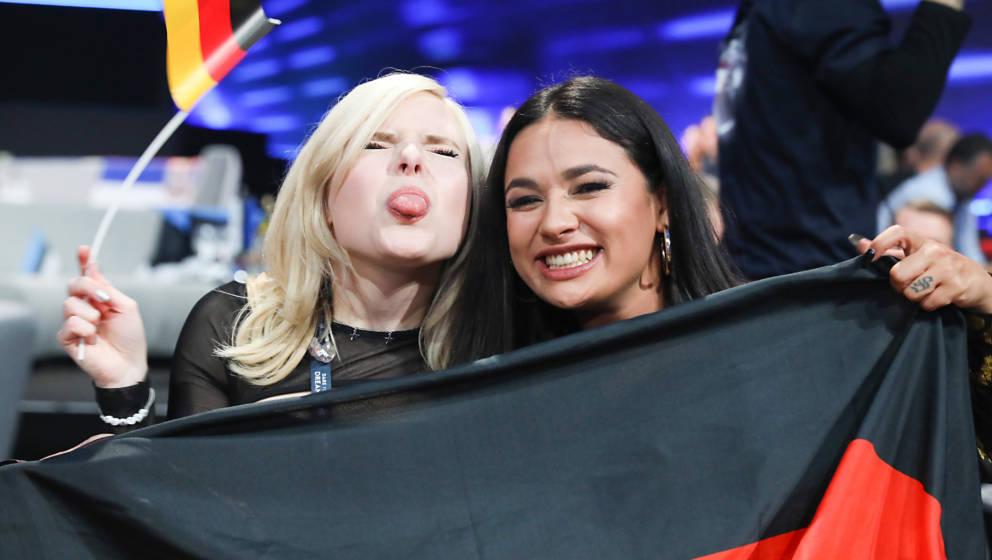 Das Mädels-Duo S!sters beim ESC