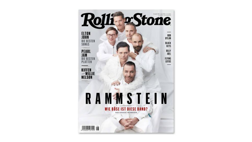 Die Juni-Ausgabe des ROLLING STONE