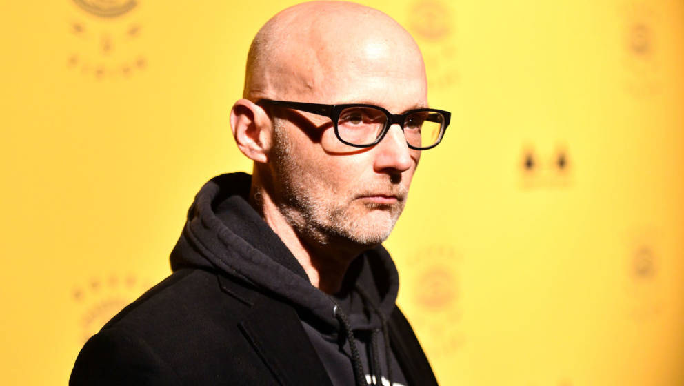 LOS ANGELES, CALIFORNIA - MARCH 07: Musician Moby attend the 7th Annual Adopt the Arts Benefit Gala at The Wiltern on March 0