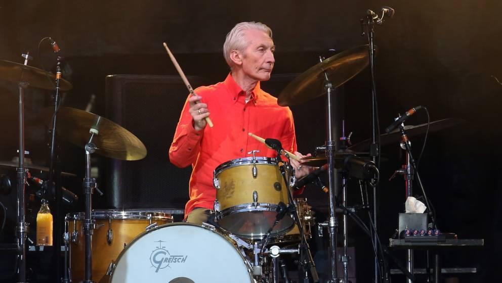 steht trotz seines Alters noch mit den Stones auf der Bühne: Charlie Watts feiert seinen 78. Geburtstag