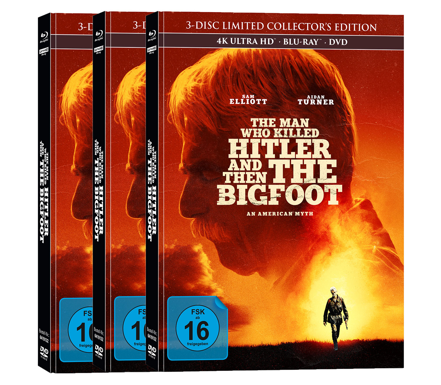 """The Man Who Killed Hitler And Then The Bigfoot"" im Mediabook"