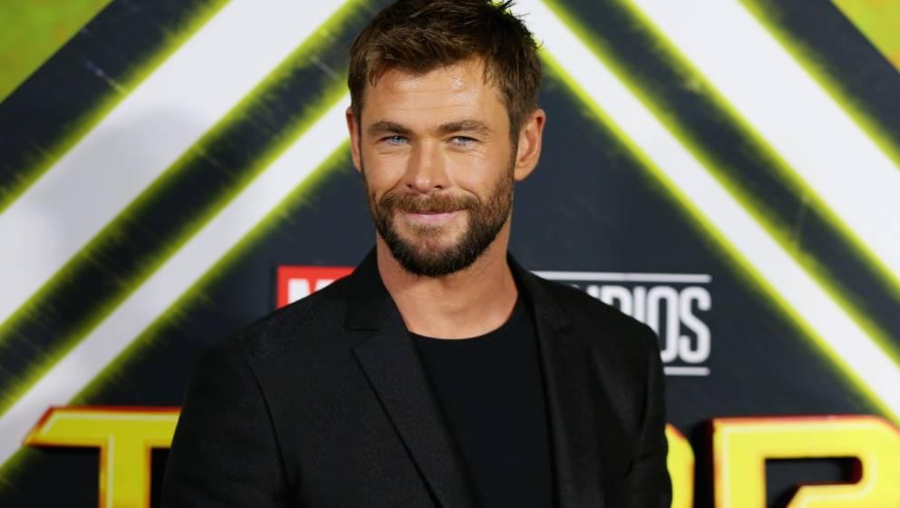 Kann über Fan-Späße lachen: Thor Darsteller Chris Hemsworth