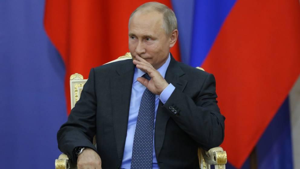 Hat eigene Pläne: Vladimir Putin