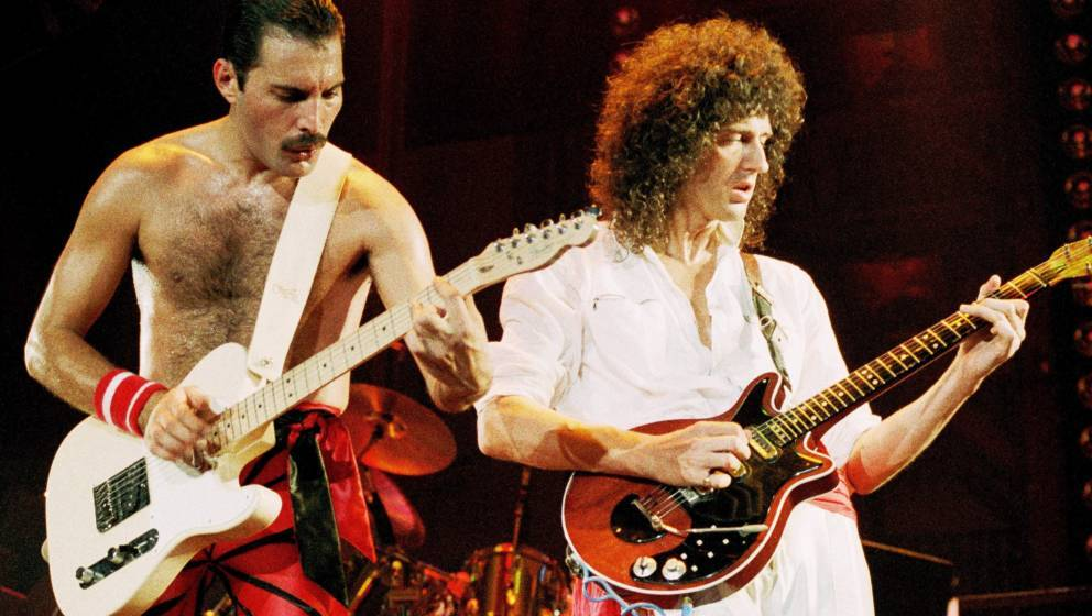 Freddie Mercury und Brian May