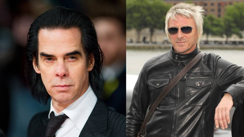 Nick Cave und Paul Weller