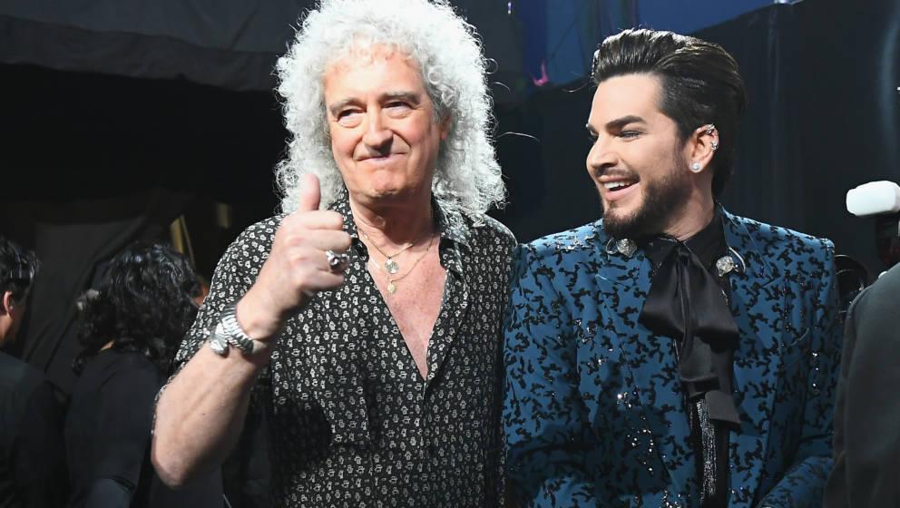 Brian May ist überzeugt von Adam Lamberts Talent
