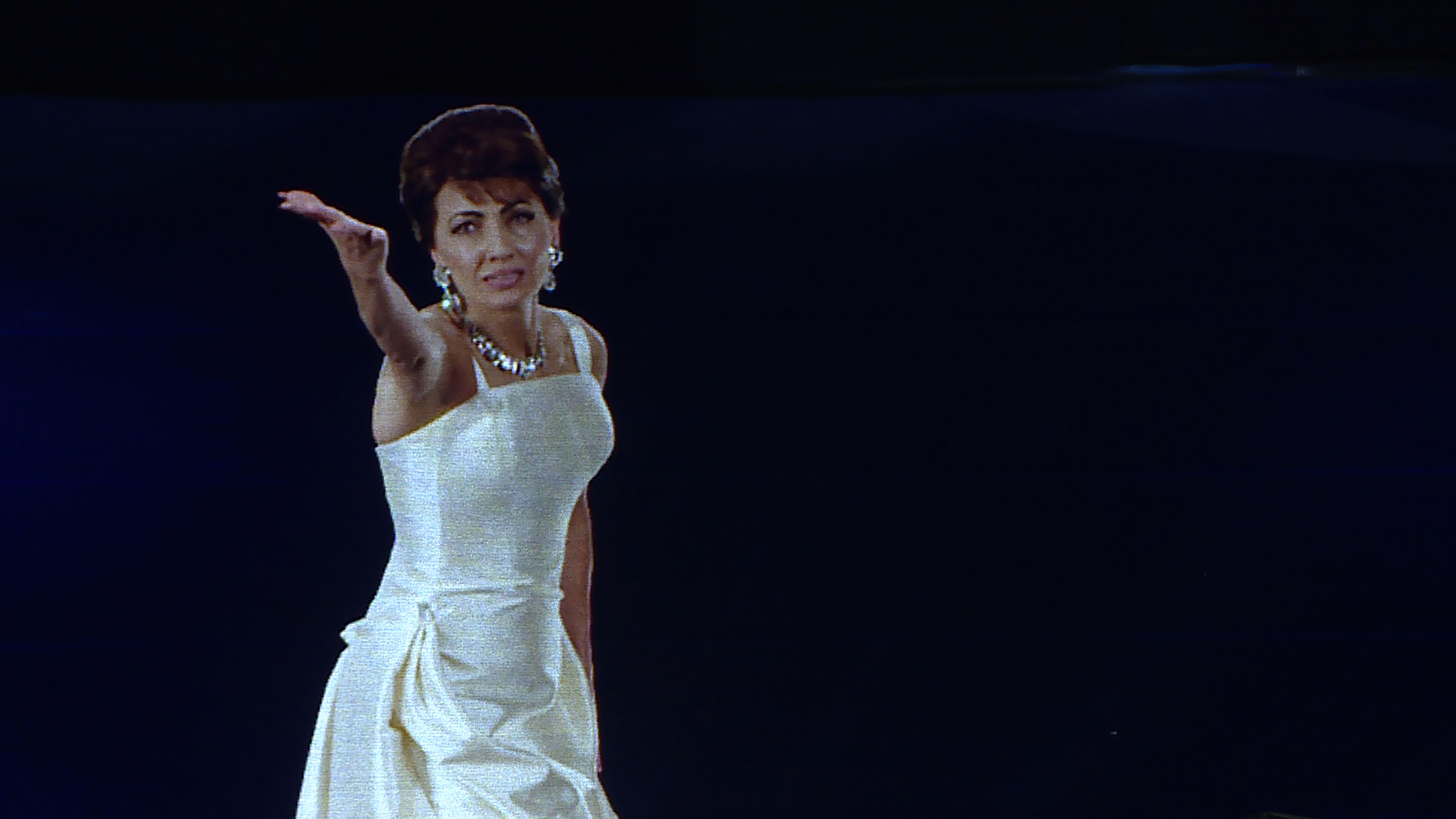 Hologramm von Maria Callas in Paris