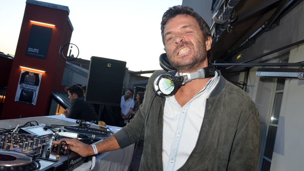 PARIS, FRANCE - JUNE 06:  Dj Zdar (Philippe Cerboneschi) from Cassius band performs during day two the Fooding 15th Anniversa