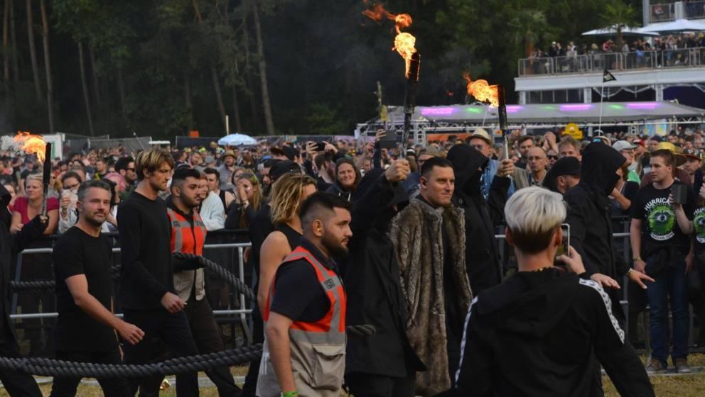 Parkway Drive live beim Hurricane Festival 2019