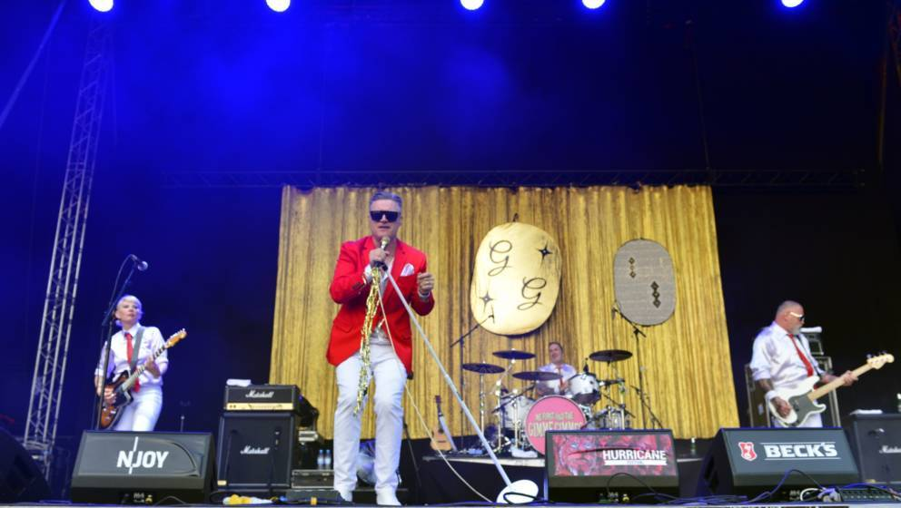 Me First + The Gimme Gimmes live beim Hurricane Festival 2019