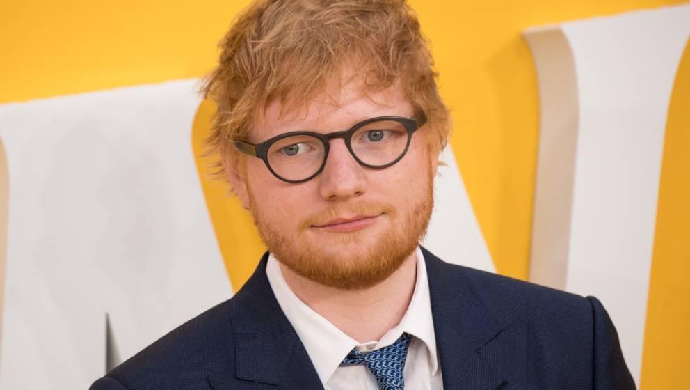 Nicht so traurig, wie er aussieht: Ed Sheeran kann auch über sich selbst lachen.