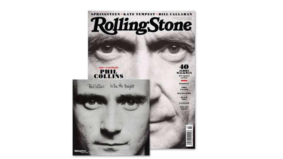 Die Juli-Ausgabe des ROLLING STONE