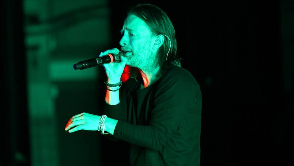 LOS ANGELES, CALIFORNIA - DECEMBER 19: Singer Thom Yorke performs onstage during his solo 'Tomorrow's Modern Boxes' tour stop