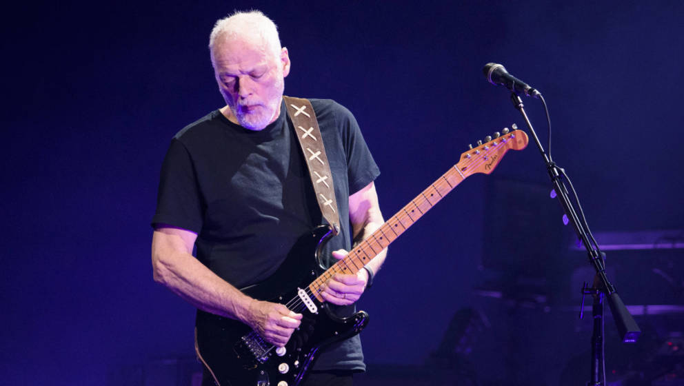 David Gilmour live im Madison Square Garden New York 2016 (Foto: Matthew Eisman)