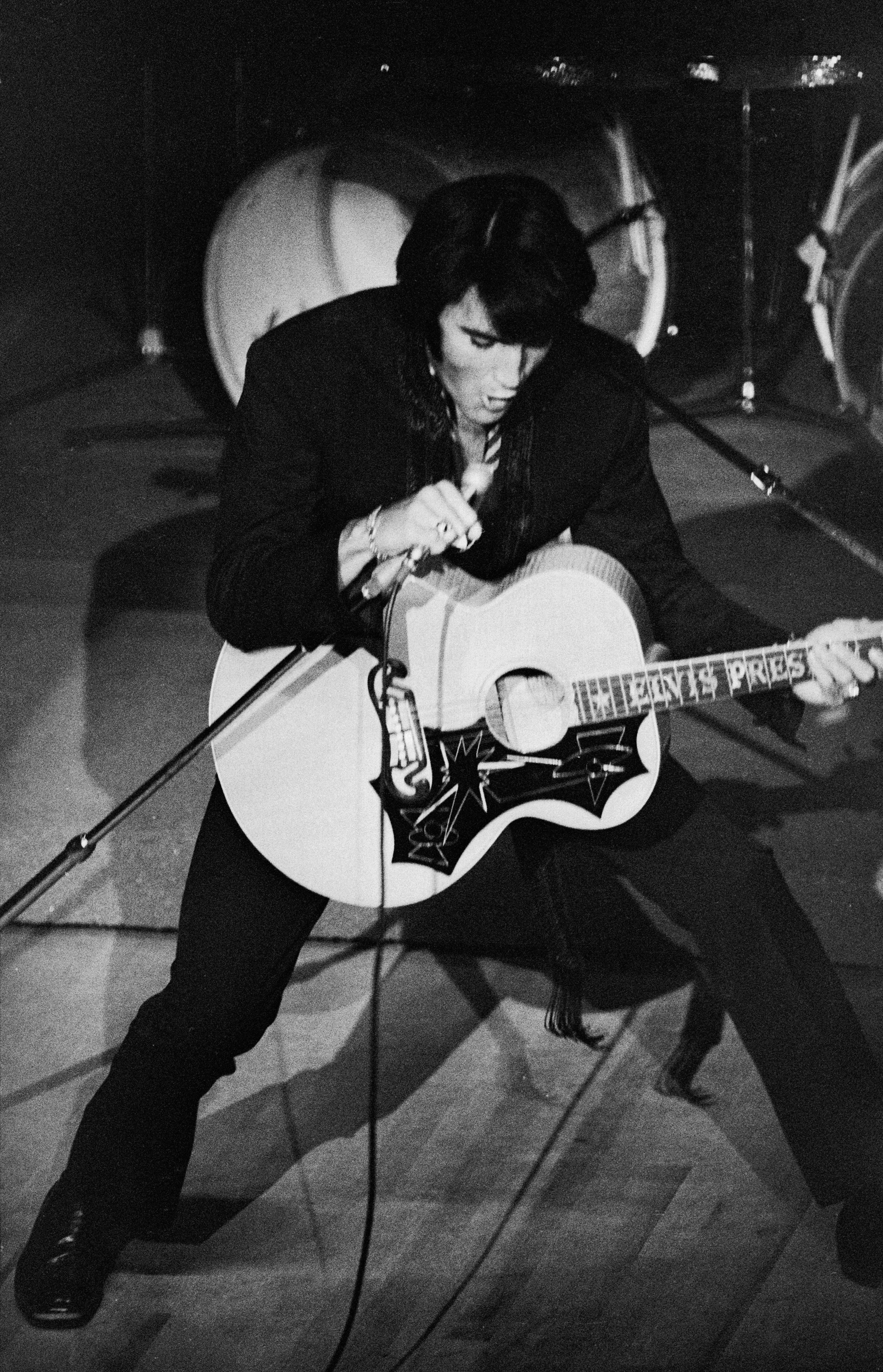 Elvis Presley in Las Vegas, 1969.