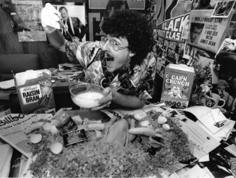 """Weird Al"""" Yankovic in """"Eat It""""."""