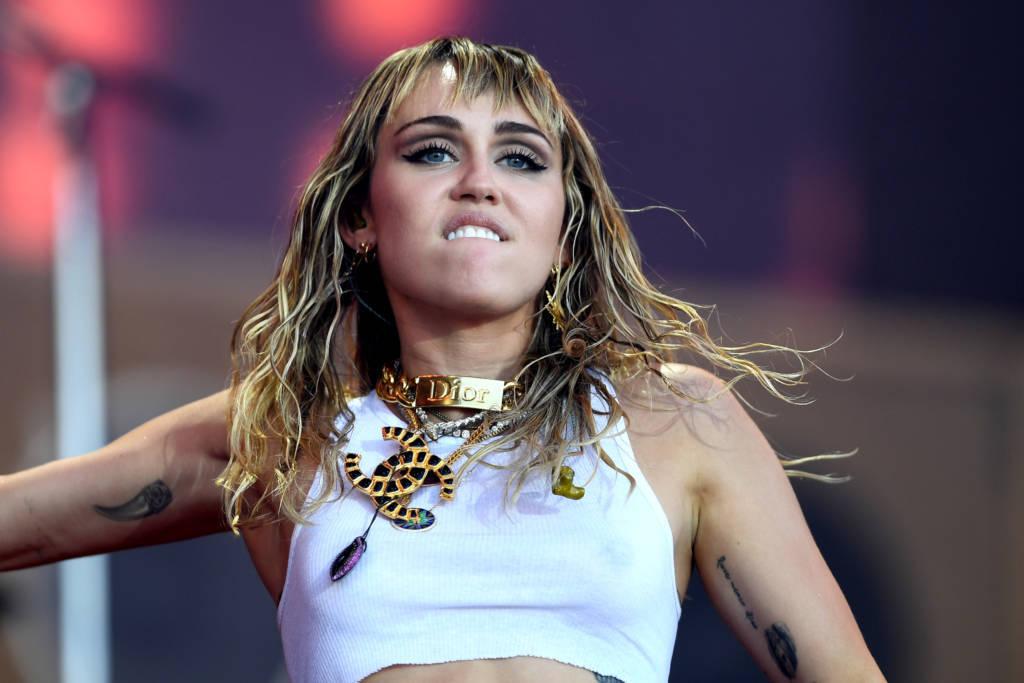 Miley Cyrus beim Glastonbury 2019