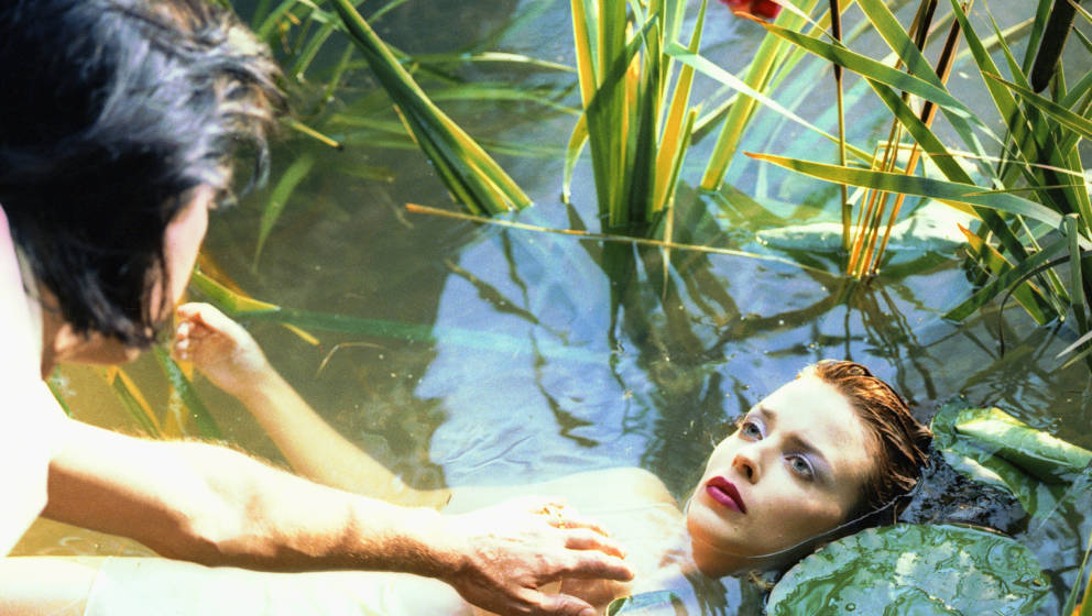 "Kylie Minogue am Set zum Video für ""Where The Wild Roses Grow"""