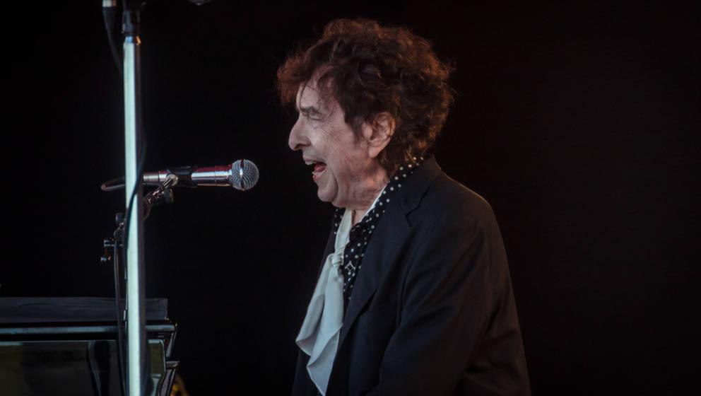 Bob Dylan auf dem Roskilde Festival 2019.