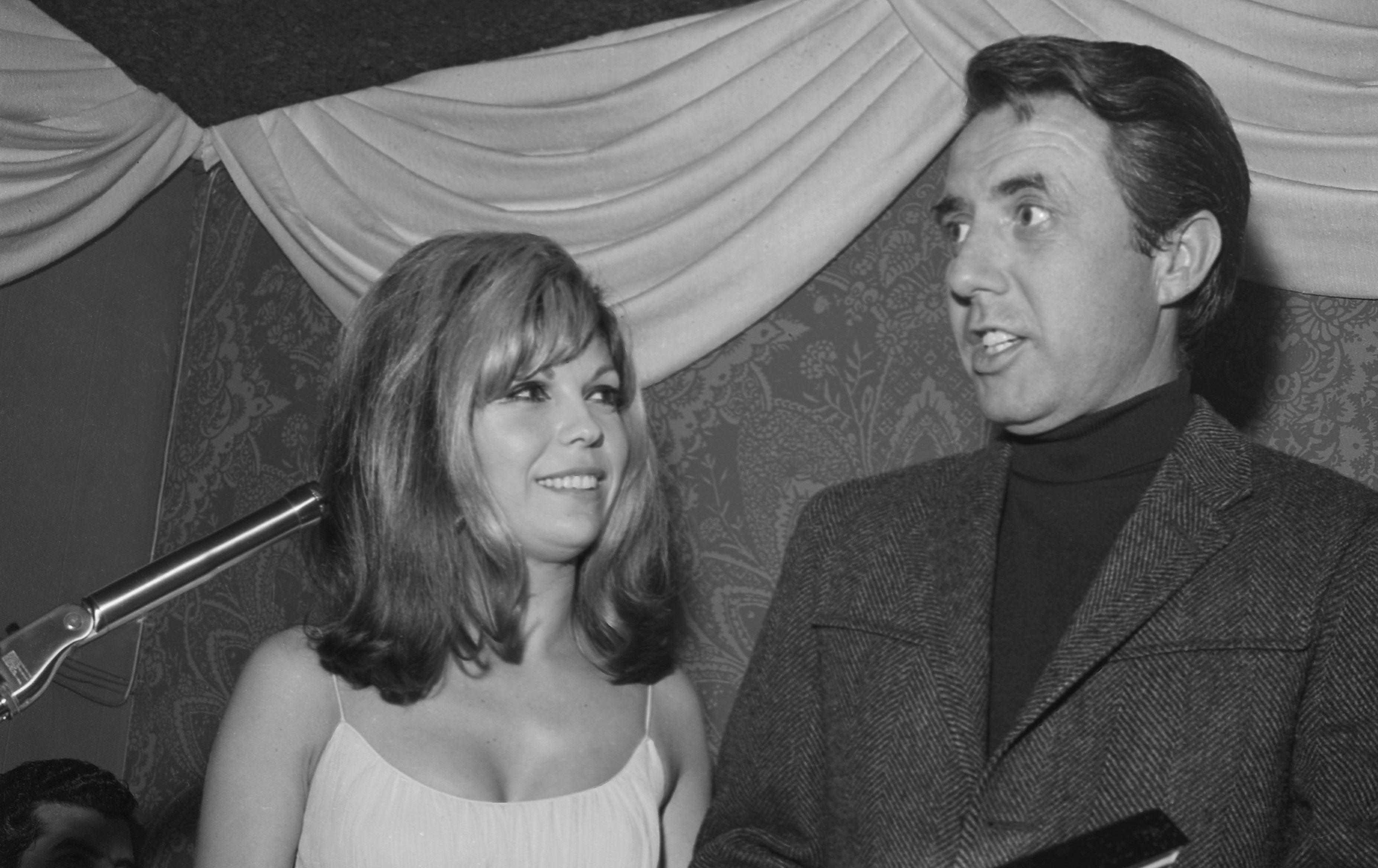 Nancy Sinatra und ihr Produzent Lee Hazlewood (1967)