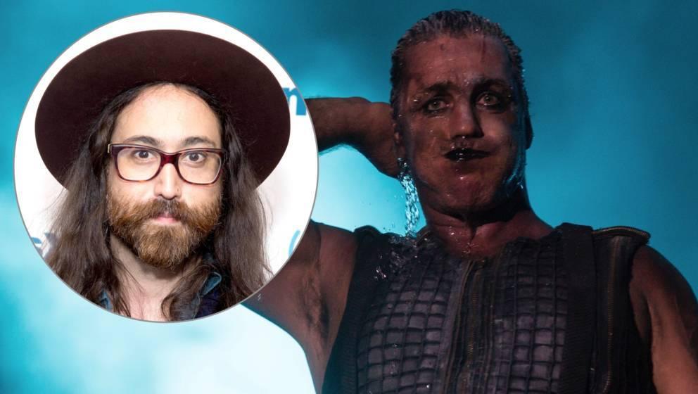 Rammstein-Sänger warf Sohn von John Lennon aus dem Backstage-Bereich