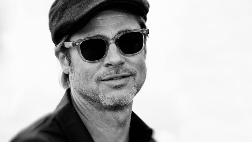 CANNES, FRANCE - MAY 22: (EDITORS NOTE: This image has been digitally altered)  Brad Pitt attends the photocall for 'Once Up