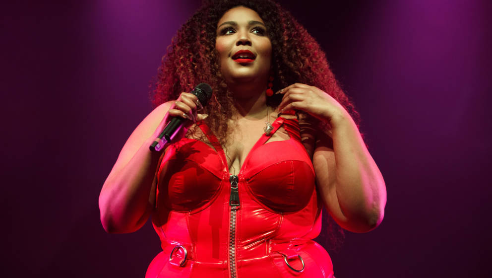 LONDON, ENGLAND - MAY 27: Lizzo performs at O2 Forum Kentish Town on May 27, 2019 in London, England. (Photo by Burak Cingi/R