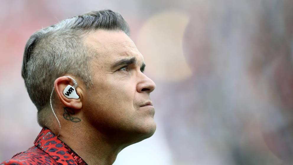 Robbie Williams im Juni 2018.