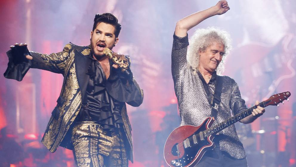 Ein Dream-Team: Adam Lambert und Brian May.