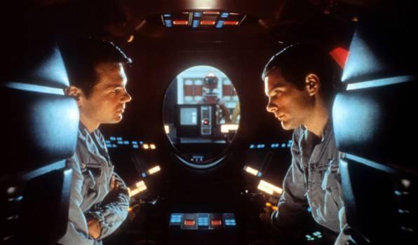"""Szene aus Stanley Kubricks Film """"2001: Odyssee im Weltraum"""""""