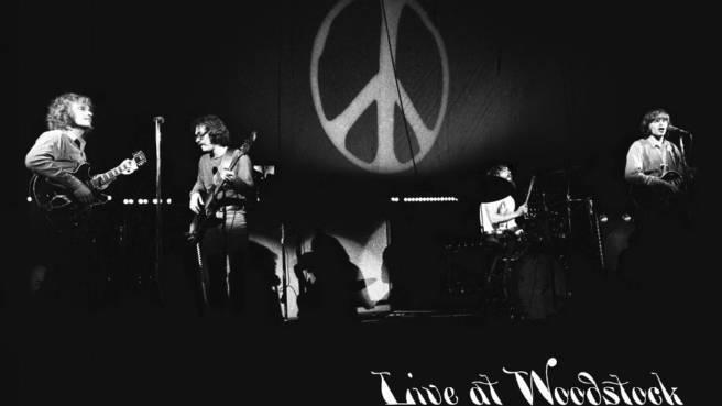 Creedence Clearwater Revival auf dem Woodstock Festival