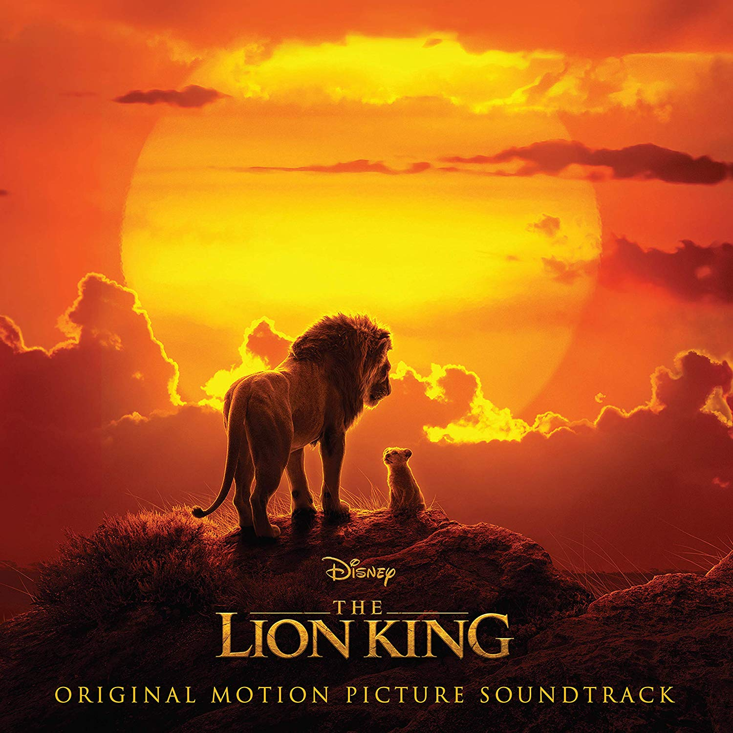 "Cover-Artwork für ""The Lion King""-Soundtrack"