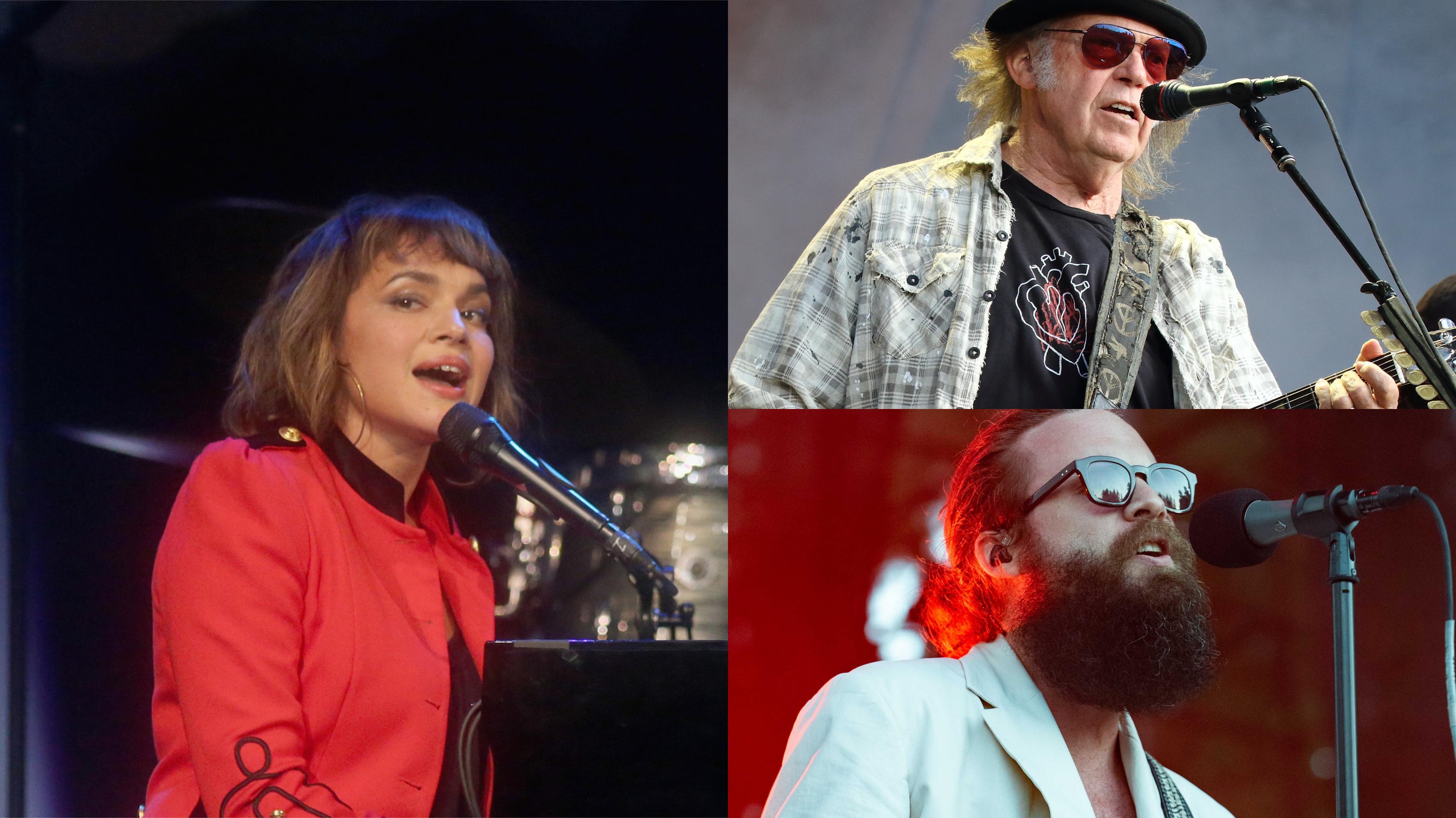 Norah Jones, Neil Young und Father John Misty.