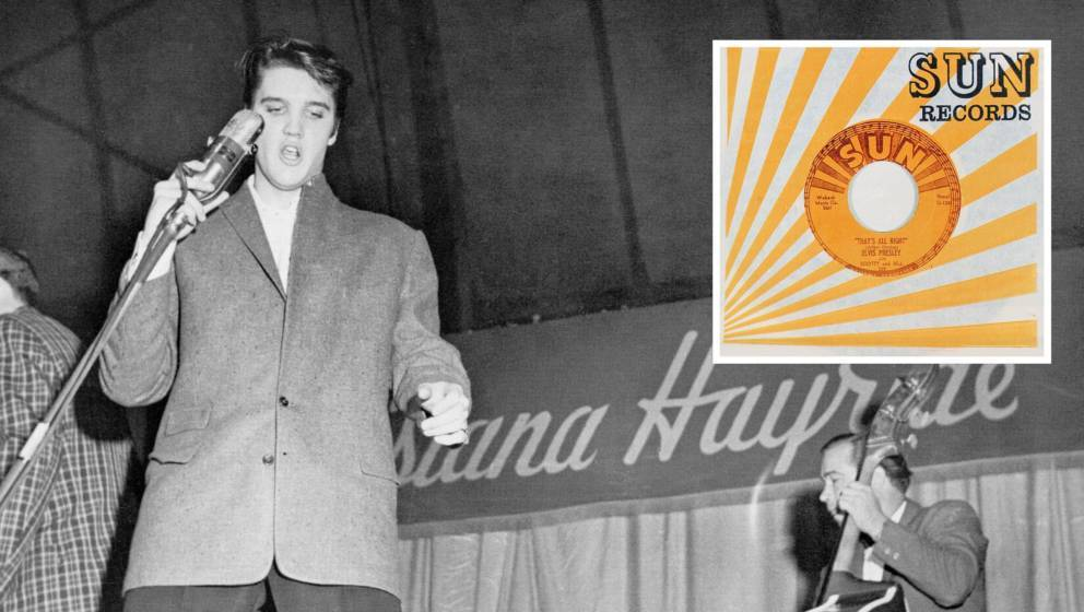"Elvis Presley auf der Schwelle zum ewigen Ruhm: ""That's All Right"" (1954)"