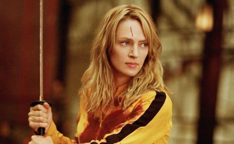 """Uma Thurman in Tarantinos """"Kill Bill"""""""